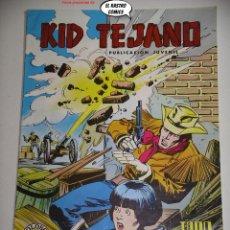 Livros de Banda Desenhada: KID TEJANO Nº 16, ED. VALENCIANA. Lote 238052035