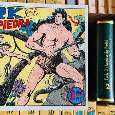 Tebeos:  PURK EL HOMBRE DE PIEDRA : 5 TOMOS , ENCUADERNADOS EN GUAFLEX . REEDICIÓN. COMPLETA .. Lote 238210800