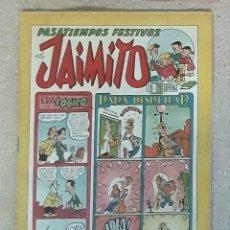 Tebeos: TEBEO PASATIEMPOS FESTIVOS DE JAIMITO N°96. Lote 238231850