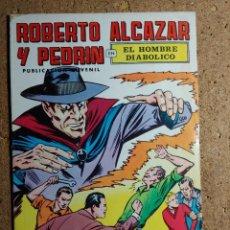 Giornalini: COMIC DE ROBERTO ALCAZAR Y PEDRIN EL HOMBRE DIAVOLICO Nº 1. Lote 238641745