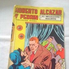 Tebeos: TEBEO COMIC ROBERTO ALCAZAR Y PEDRÍN PUBLICACIÓN JUVENIL 1976 EL BRAZALETE MALDITO Nº 20 2 EPOCA. Lote 238823110