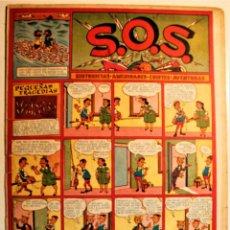"""Tebeos: S.O.S. EDITORIAL VALENCIANA 1951, NÚMERO 53 ORIGINAL """" EL VECINO PEDIGÜEÑO """". Lote 239539315"""