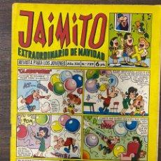 Tebeos: JAIMITO. EXTRAORDINARIO DE NAVIDAD. REVISTA PARA LOS JOVENES. AÑO XIX. Nº 789. EDITORA VALENCIANA. Lote 239556165