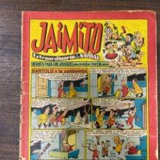 Tebeos: JAIMITO. REVISTA PARA LOS JOVENES. AÑO XVIII. Nº 737. EDITORA VALENCIANA. Lote 239556530