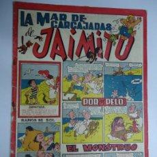 Tebeos: LA MAR DE CARCAJADAS DE JAIMITO EDITA VALENCIANA 1947 MIDE 17 X 24 CM.. Lote 239587715