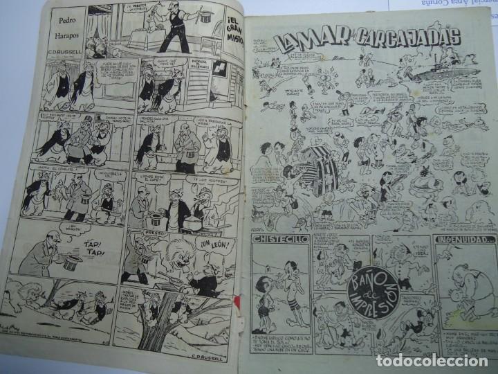 Tebeos: LA MAR DE CARCAJADAS DE JAIMITO EDITA VALENCIANA 1947 MIDE 17 X 24 cm. - Foto 2 - 239587715