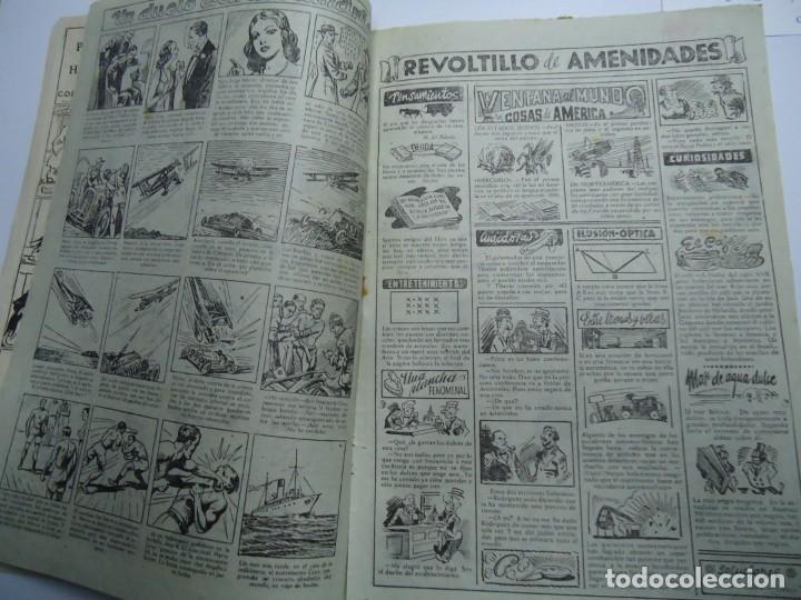 Tebeos: LA MAR DE CARCAJADAS DE JAIMITO EDITA VALENCIANA 1947 MIDE 17 X 24 cm. - Foto 3 - 239587715