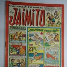 Tebeos: CARCAJADAS CALUROSAS DE JAIMITO EDITA VALENCIANA 1947 MIDE 17 X 24 CM.. Lote 239589140