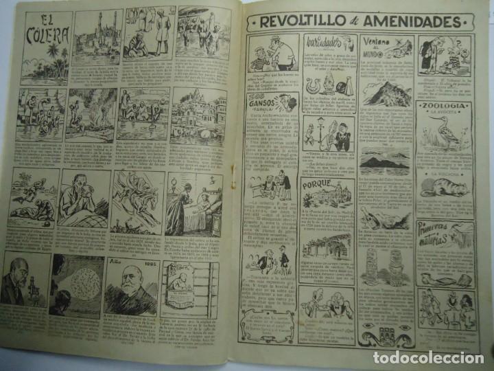 Tebeos: CARCAJADAS CALUROSAS DE JAIMITO EDITA VALENCIANA 1947 MIDE 17 X 24 cm. - Foto 3 - 239589140