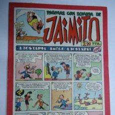 Tebeos: PAGINAS CON SOMBRA DE JAIMITO EDITA VALENCIANA 1947 MIDE 17 X 24 CM.. Lote 239589740