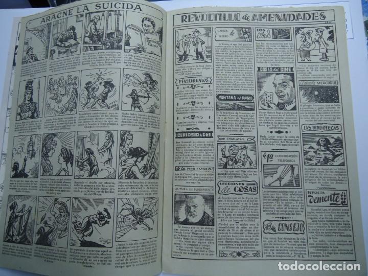 Tebeos: PAGINAS CON SOMBRA DE JAIMITO EDITA VALENCIANA 1947 MIDE 17 X 24 cm. - Foto 3 - 239589740