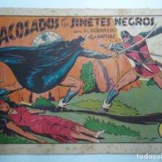 Tebeos: EL GUERRERO DEL ANTIFAZ 1944, VALENCIANA ACOSADOS POR LOS JINETES NEGROS MIDE 17 X 24 CM.. Lote 239594855