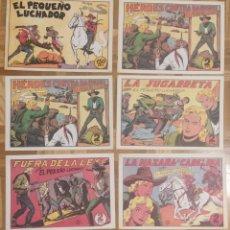Tebeos: SET LOTE 31 TEBEOS FACSÍMILES, EL PEQUEÑO LUCHADOR, AÑOS 80, REEDITADOS POR VALENCIANA. Lote 240369320