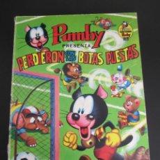 Tebeos: PUMBY (1967, VALENCIANA) -LIBROS ILUSTRADOS- 6 · 1968 · PERDIERON CON LAS BOTAS PUESTAS. Lote 241335180