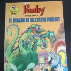 Tebeos: PUMBY (1967, VALENCIANA) -LIBROS ILUSTRADOS- 16 · 1969 · EL DRAGÓN DE LOS CUATRO PODERES. Lote 241337535
