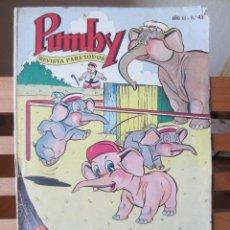 Tebeos: PUMBY Nº 45 ORIGINAL 2 PESETAS. Lote 241381550