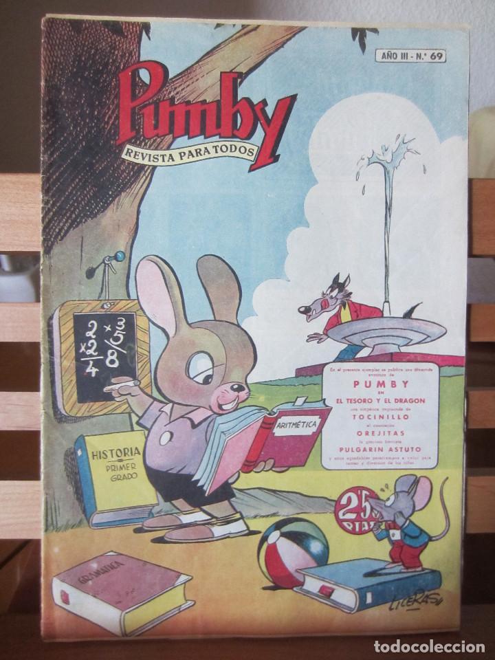 PUMBY Nº 69 ORIGINAL 2,50 PESETAS (Tebeos y Comics - Valenciana - Pumby)