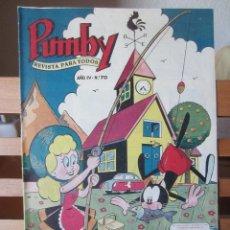 Tebeos: PUMBY Nº 70 ORIGINAL 2,50 PESETAS. Lote 241385155