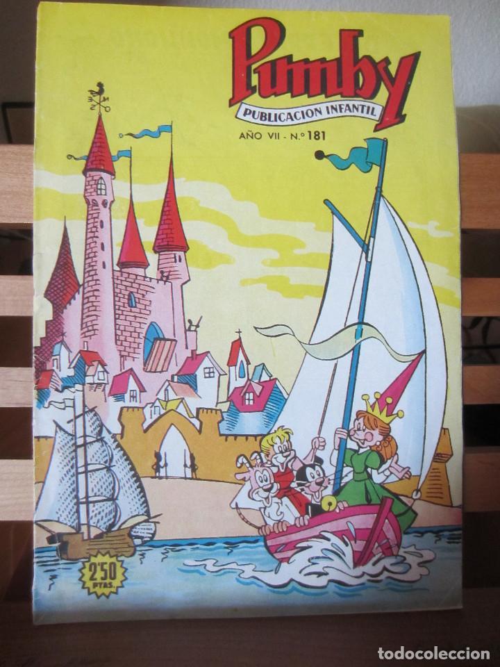PUMBY Nº 181 ORIGINAL 2,50 PESETAS + REGALO OTRO (Tebeos y Comics - Valenciana - Pumby)