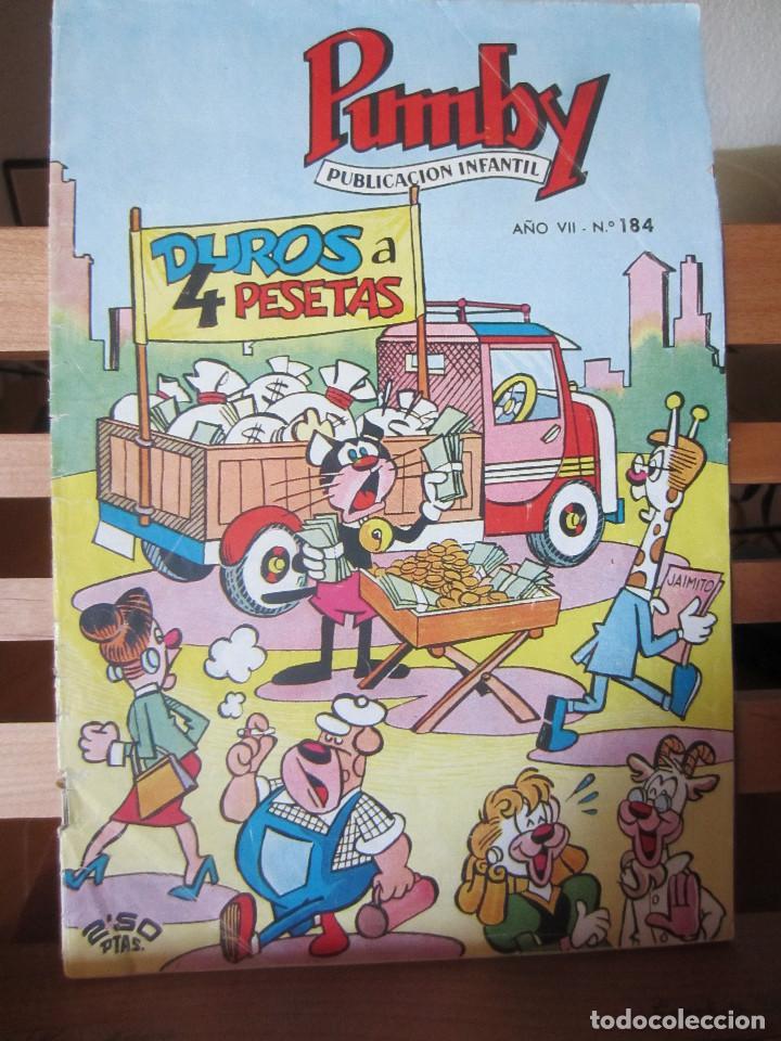 PUMBY Nº 184 ORIGINAL 2,50 PESETAS (Tebeos y Comics - Valenciana - Pumby)