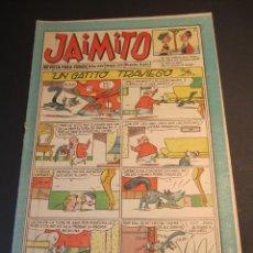 Tebeos: JAIMITO (1945, VALENCIANA) 522 · 10-X-1959 · JAIMITO. Lote 241485150