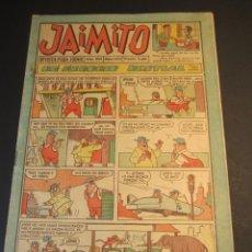 Tebeos: JAIMITO (1945, VALENCIANA) 602 · 22-IV-1961 · JAIMITO. Lote 241485850