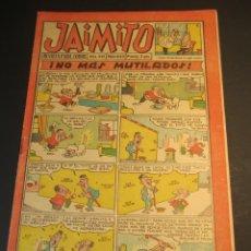 Tebeos: JAIMITO (1945, VALENCIANA) 623 · 16-IX-1961 · JAIMITO. Lote 241487625