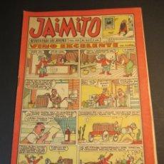 Tebeos: JAIMITO (1945, VALENCIANA) 635 · 9-XII-1961 · JAIMITO. Lote 241489225