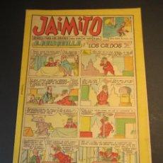 Tebeos: JAIMITO (1945, VALENCIANA) 682 · 3-XI-1962 · JAIMITO. Lote 241493895