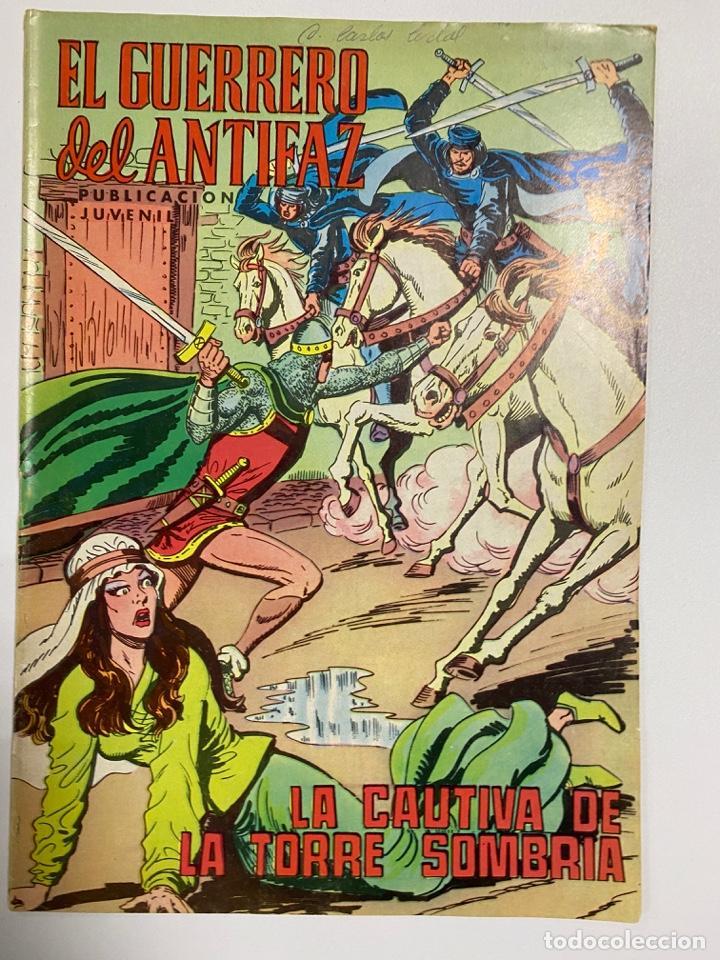 EL GUERRERO DEL ANTIFAZ. Nº 194 - LA CAUTIVA DE LA TORRE SOMBRIA. EDITORA VALENCIANA. (Tebeos y Comics - Valenciana - Guerrero del Antifaz)