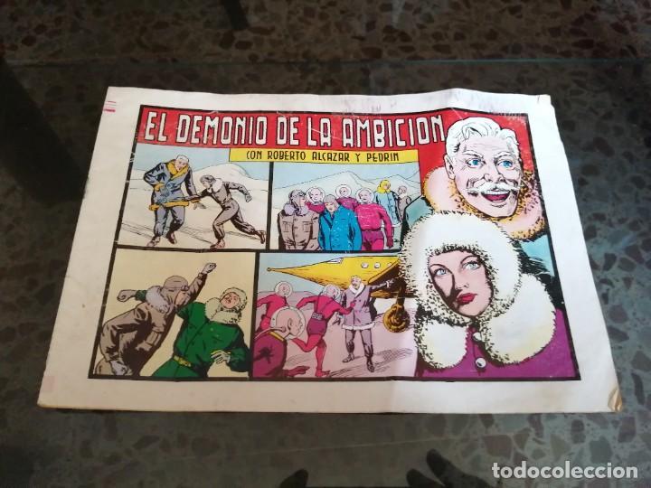 ROBERTO ALCÁZAR Y PEDRIN - EL DEMONIO DE LA AMBICIÓN (Tebeos y Comics - Valenciana - Roberto Alcázar y Pedrín)