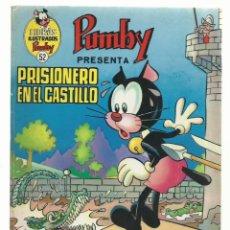 BDs: LIBROS ILUSTRADOS PUMBY 52: PRISIONERO EN EL CASTILLO, 1973. Lote 242984985
