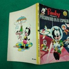 Tebeos: PUMBY . PRISIONERO EN EL ESPACIO. LIBROS ILUSTRADOS PUMBY Nº 5. EDITORA VALENCIANA 1968.. Lote 243394500
