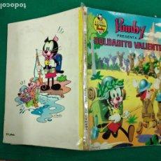 Tebeos: PUMBY . SOLDADITO VALIENTE. LIBROS ILUSTRADOS PUMBY Nº 26. EDITORA VALENCIANA 1970. Lote 243394840