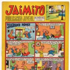 Tebeos: JAIMITO Nº 985 (VALENCIANA 1968) CON HEROES DEL DEPORTE (AMBROS).. Lote 243527640