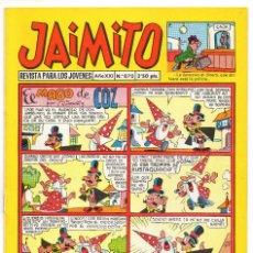 BDs: JAIMITO Nº 870 (VALENCIANA 1966). Lote 243528025