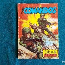 Tebeos: LIBRO COMANDOS (1981) CADENA DE MANDO - EDIT. VALENCIANA. Lote 243556885