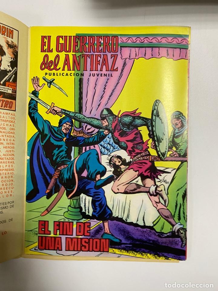 Tebeos: EL GUERRERO DEL ANTIFAZ. SOLO LAS PORTADAS. DEL Nº 30 AL 41. VER FOTOS - Foto 9 - 243573115