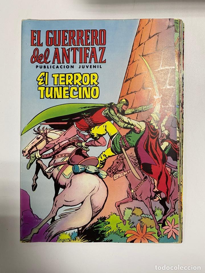 EL GUERRERO DEL ANTIFAZ. SOLO LAS PORTADAS. DEL Nº 42 AL 58. VER FOTOS (Tebeos y Comics - Valenciana - Guerrero del Antifaz)