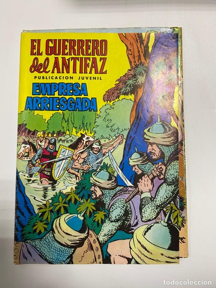 EL GUERRERO DEL ANTIFAZ. SOLO LAS PORTADAS. DEL Nº 13 AL 22. VER FOTOS (Tebeos y Comics - Valenciana - Guerrero del Antifaz)