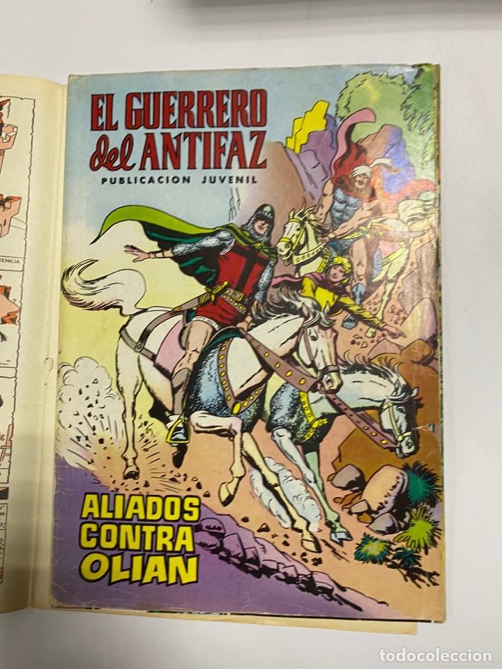 Tebeos: EL GUERRERO DEL ANTIFAZ. SOLO LAS PORTADAS. DEL Nº 13 AL 22. VER FOTOS - Foto 2 - 243573815