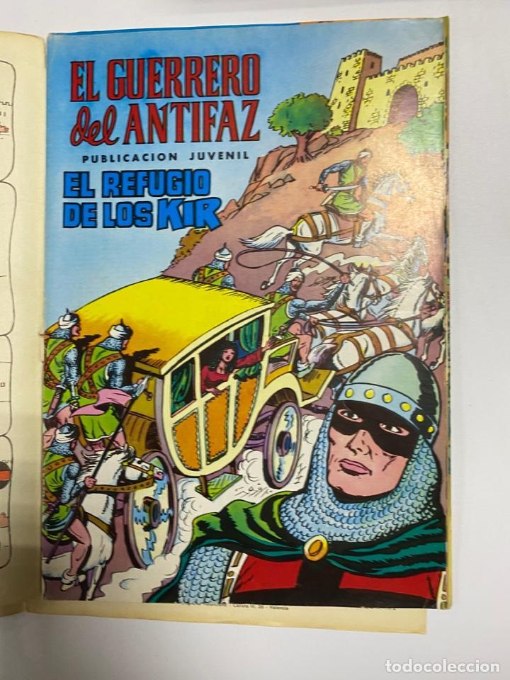 Tebeos: EL GUERRERO DEL ANTIFAZ. SOLO LAS PORTADAS. DEL Nº 13 AL 22. VER FOTOS - Foto 3 - 243573815