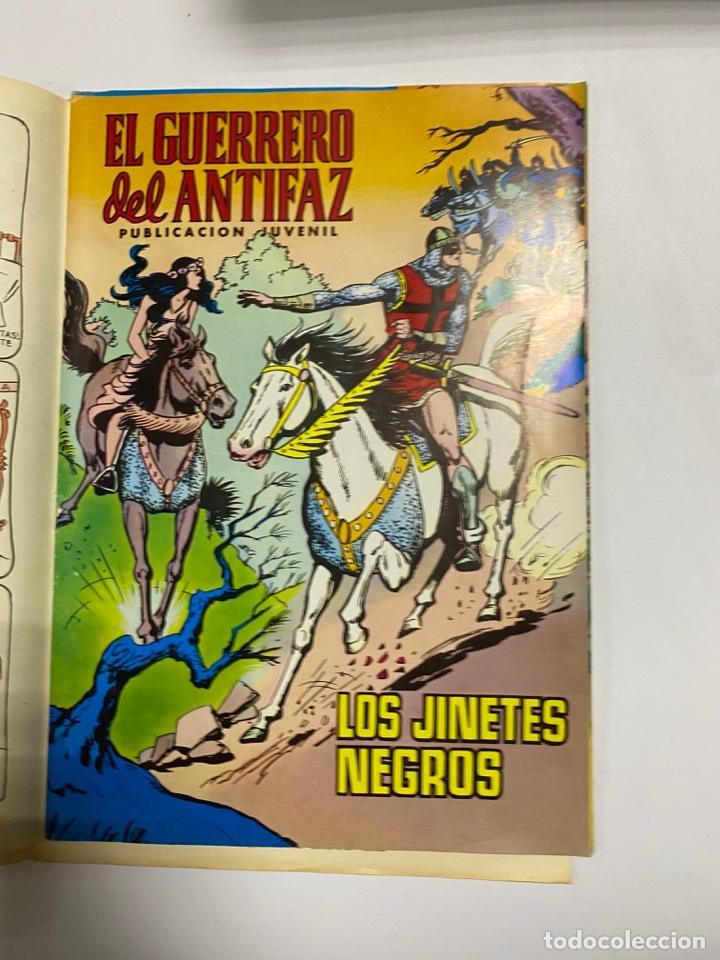 Tebeos: EL GUERRERO DEL ANTIFAZ. SOLO LAS PORTADAS. DEL Nº 13 AL 22. VER FOTOS - Foto 5 - 243573815