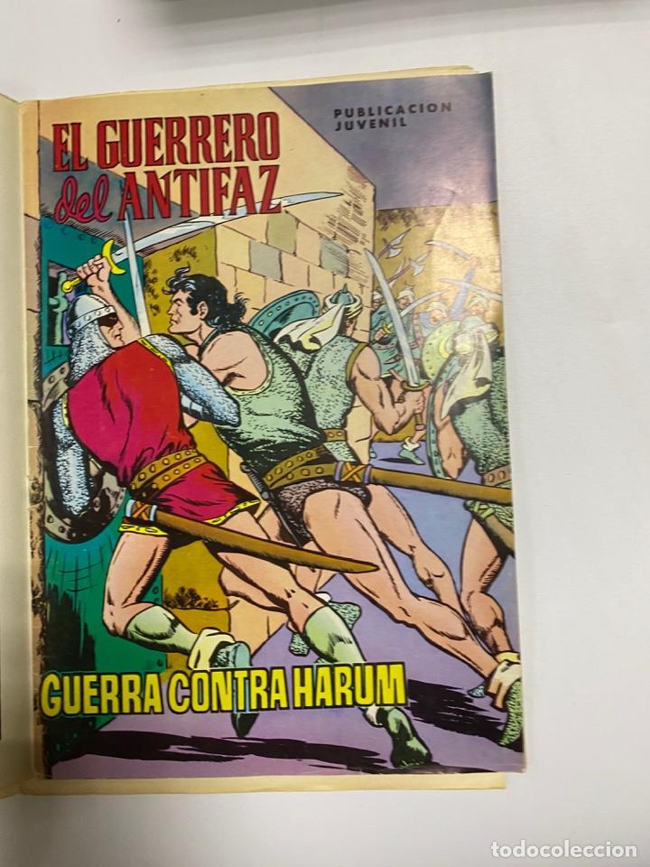 Tebeos: EL GUERRERO DEL ANTIFAZ. SOLO LAS PORTADAS. DEL Nº 13 AL 22. VER FOTOS - Foto 7 - 243573815