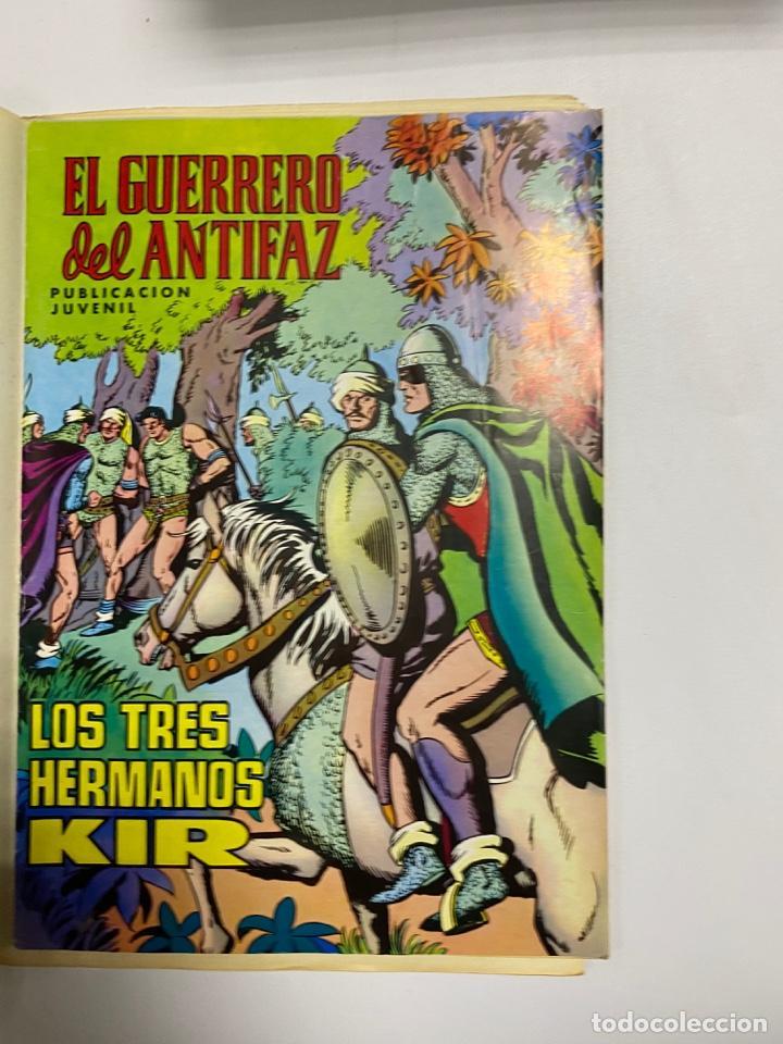 Tebeos: EL GUERRERO DEL ANTIFAZ. SOLO LAS PORTADAS. DEL Nº 13 AL 22. VER FOTOS - Foto 8 - 243573815