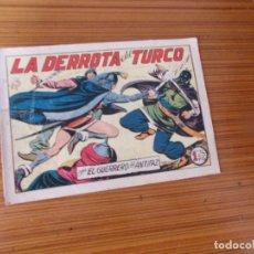 Tebeos: EL GUERRERO DEL ANTIFAZ Nº 162 EDITA VALENCIANA. Lote 243630670