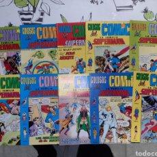 Tebeos: LA FAMILIA SUPERMAN COLOSOS DEL CÓMIC EDITORIAL VALENCIANA LOTE DE 10 DE LOS 12 QUE ERAN. Lote 243650645