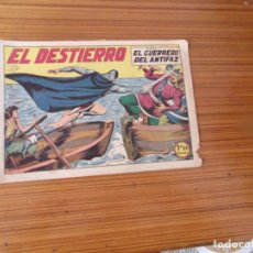 Tebeos: EL GUERRERO DEL ANTIFAZ Nº 133 EDITA VALENCIANA. Lote 243777865