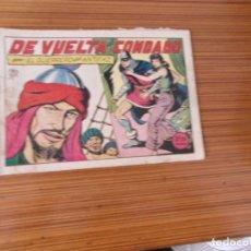 Tebeos: EL GUERRERO DEL ANTIFAZ Nº 132 EDITA VALENCIANA. Lote 243778340