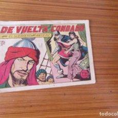 Tebeos: EL GUERRERO DEL ANTIFAZ Nº 132 EDITA VALENCIANA. Lote 243778490